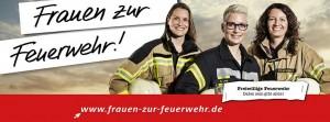 Frauen zur Feuerwehr
