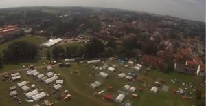 BJF-Zeltlager 2015 Luftbild
