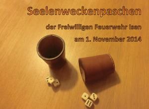 FF Isen - Seelenweckenpaschen 01.11.2014