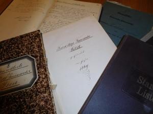 Chronik-Unterlagen