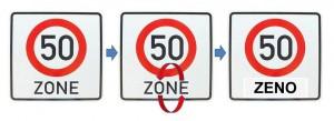 Zenos 50er Zone