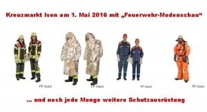 Feuerwehr-Modenschau
